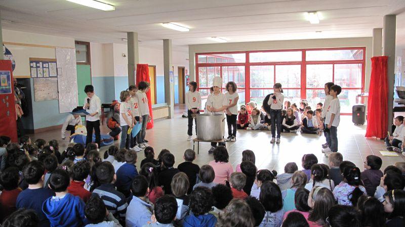 Studenti in una scuola di Gussago
