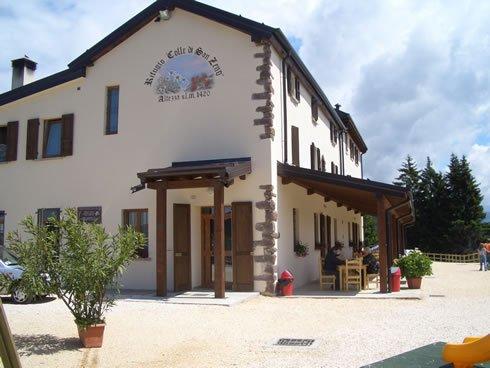 Rifugio Piardi, Colle di San Zeno