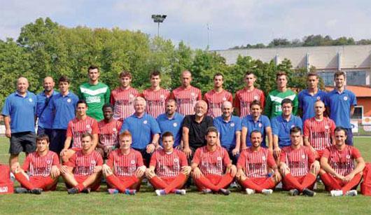La prima squadra Gussago Calcio 2012-2013