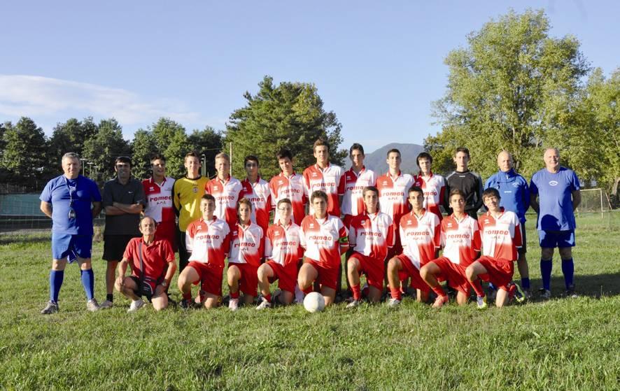 Allievi Gussago Calcio, stagione 2012-2013