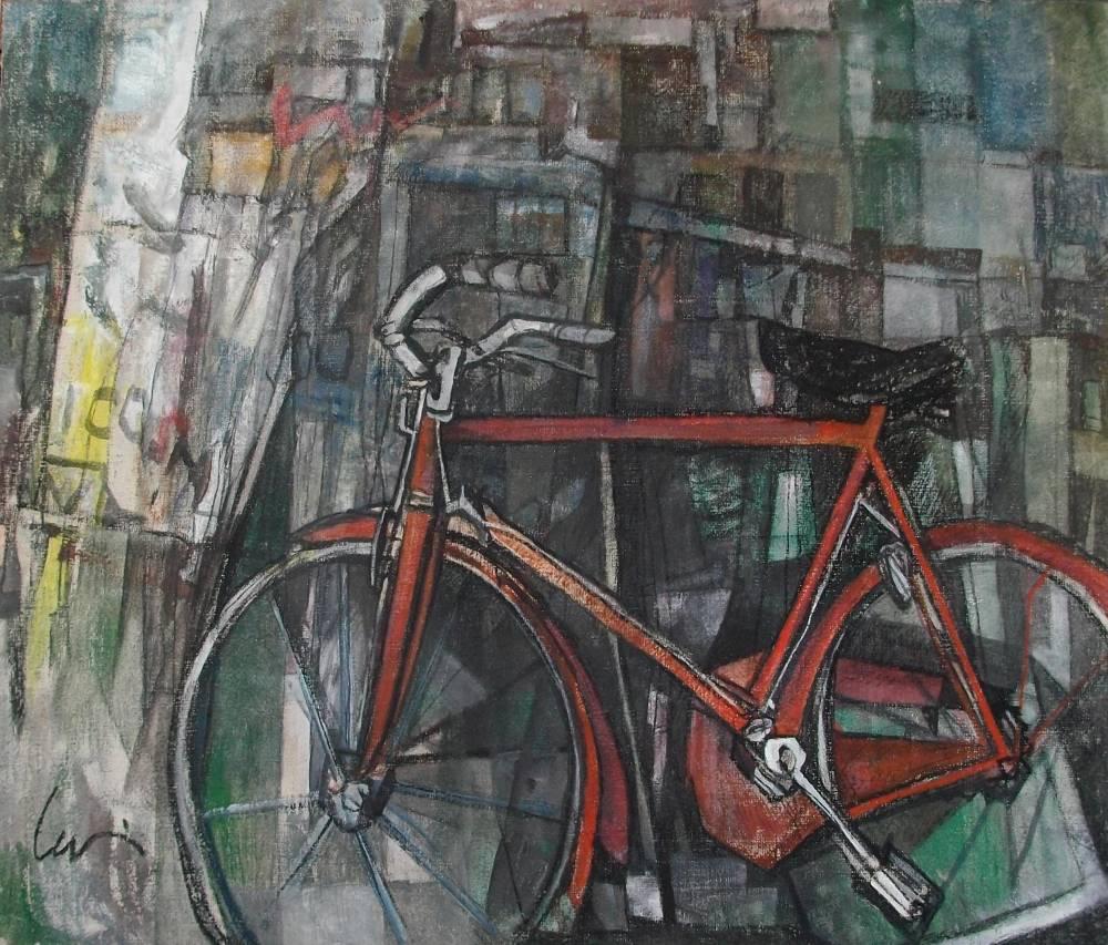 """Mostra """"27 biciclette"""" di Eugenio Levi"""