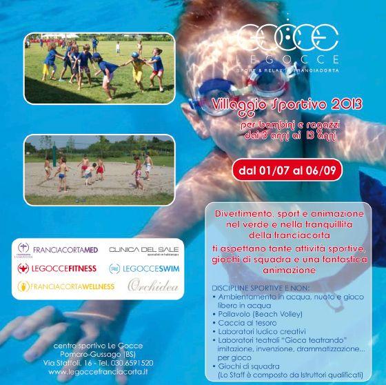 Villaggio sportivo Le Gocce 2013