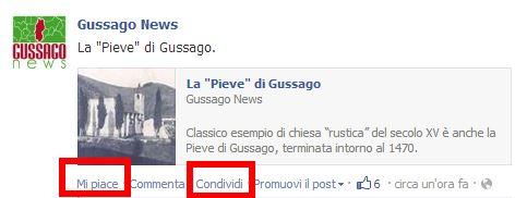 Condividi Gussago News