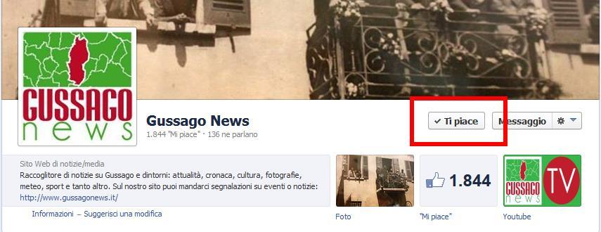 "Mi piace ""Gussago News"""