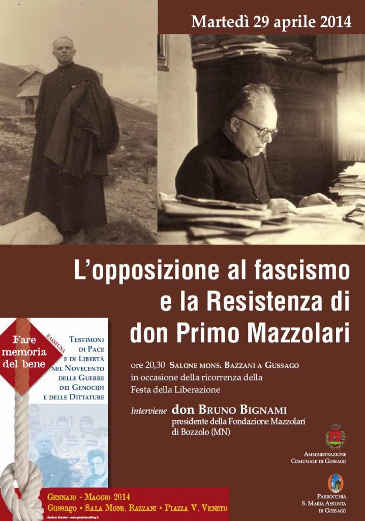 L'opposizione al fascismo e la Resistenza in don Primo Mazzolari