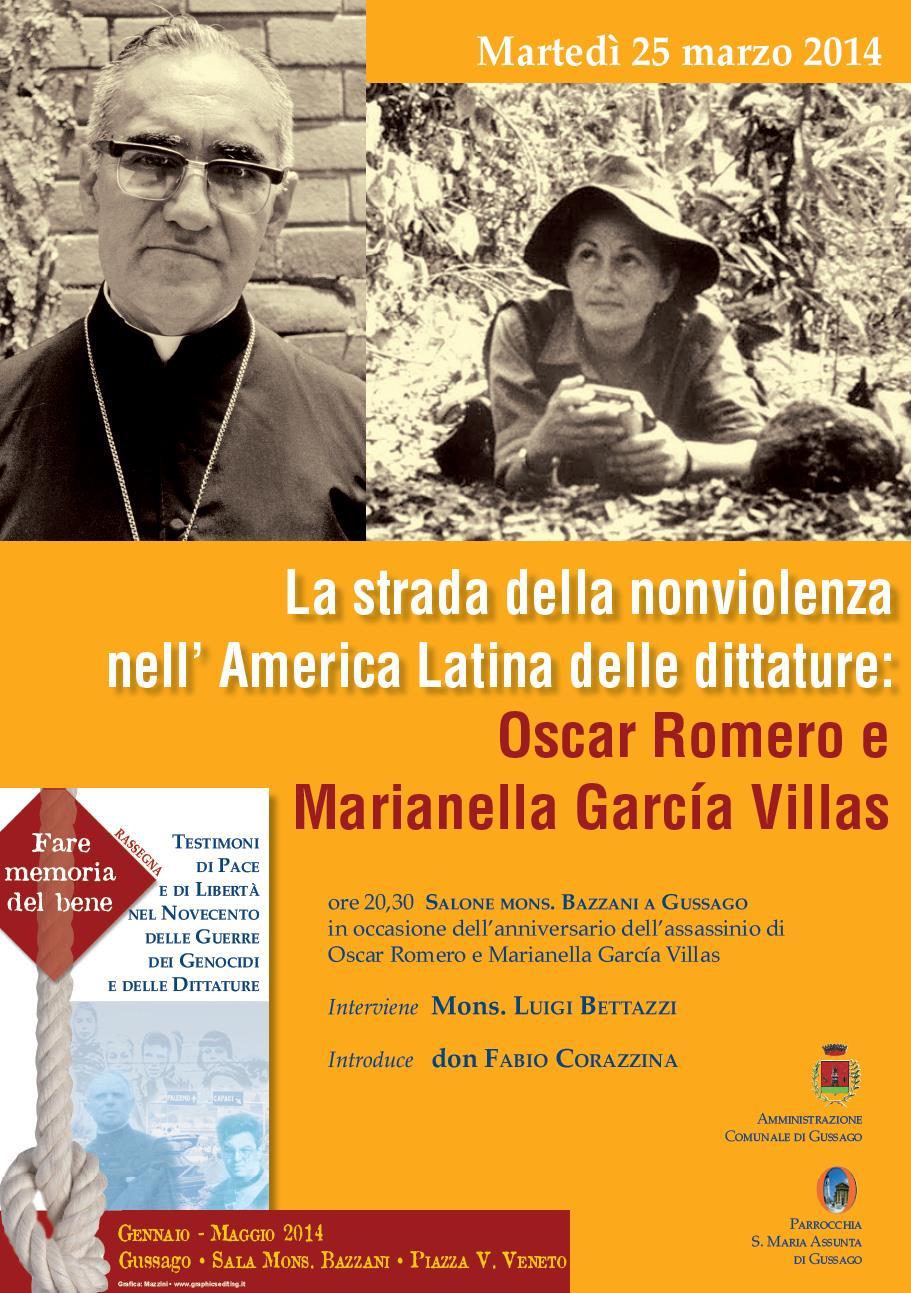 La strada della nonviolenza nell'America latina delle dittature
