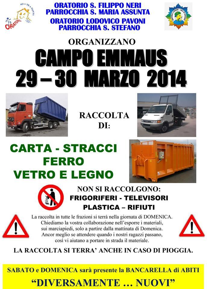 Campo Emmaus primavera 2014