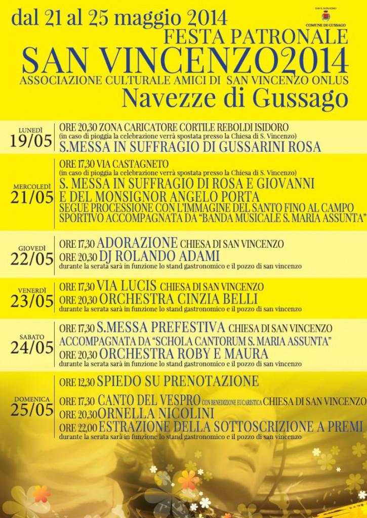 Festa patronale San Vincenzo 2014