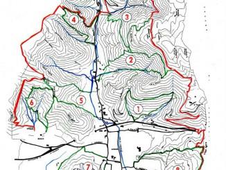 Mappa sentieri Gussago