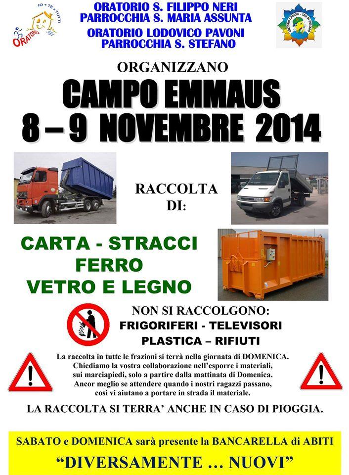 Campo Emmaus autunno 2014