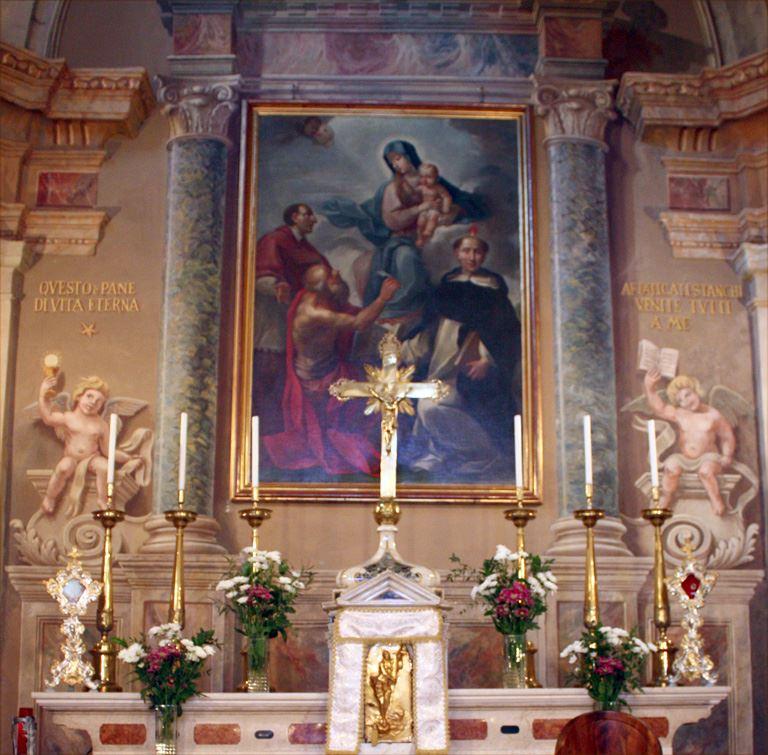 Pala altar Maggiore a Civine