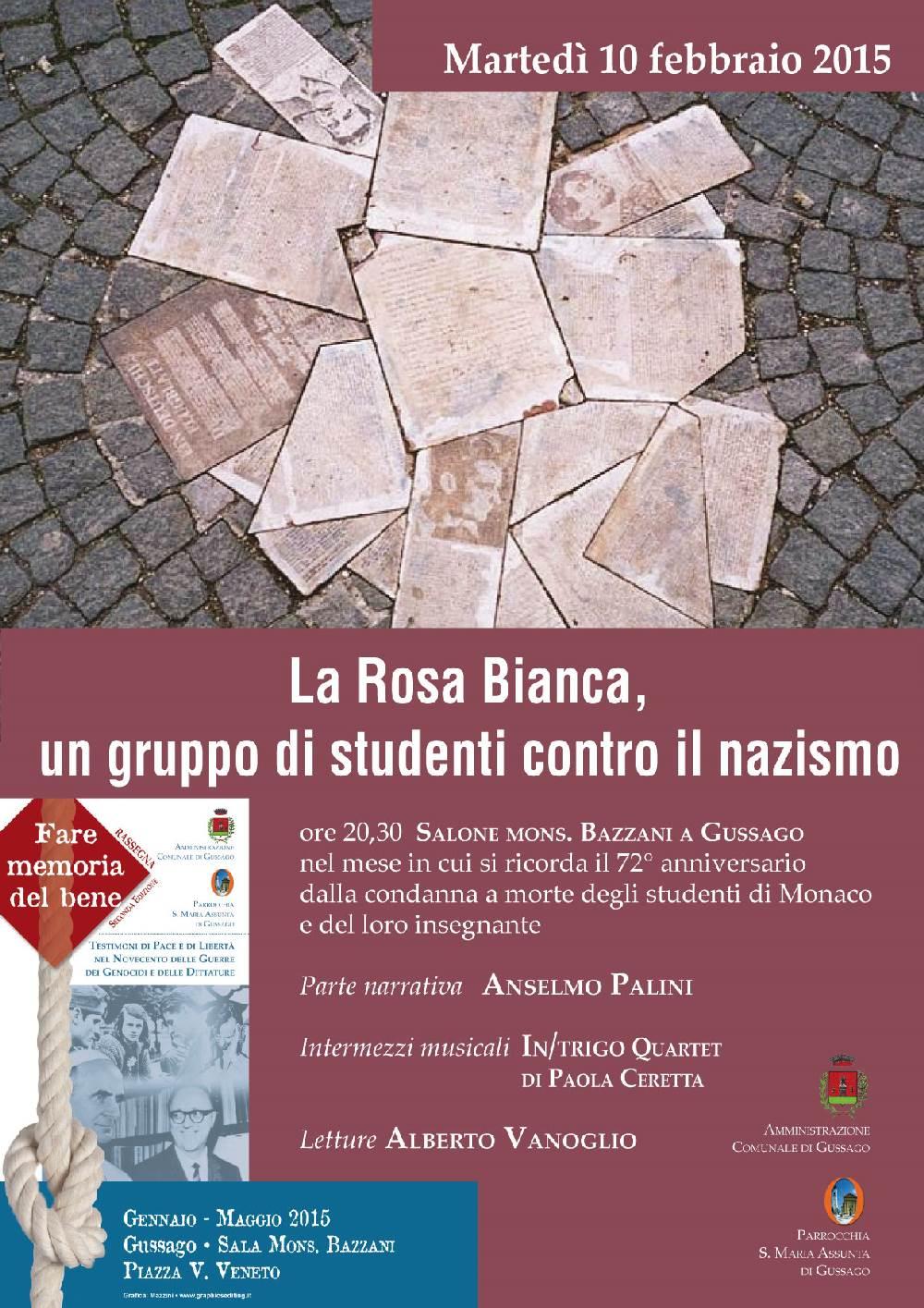 Fare Memoria del bene: la Rosa Bianca, un gruppo di studenti contro il nazismo