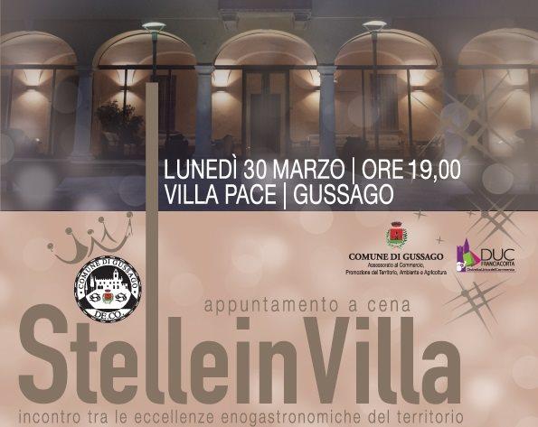 Fotogallery Stelle in Villa 2015