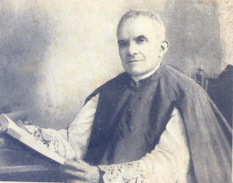 Mons. G. Bazzani nel 1936
