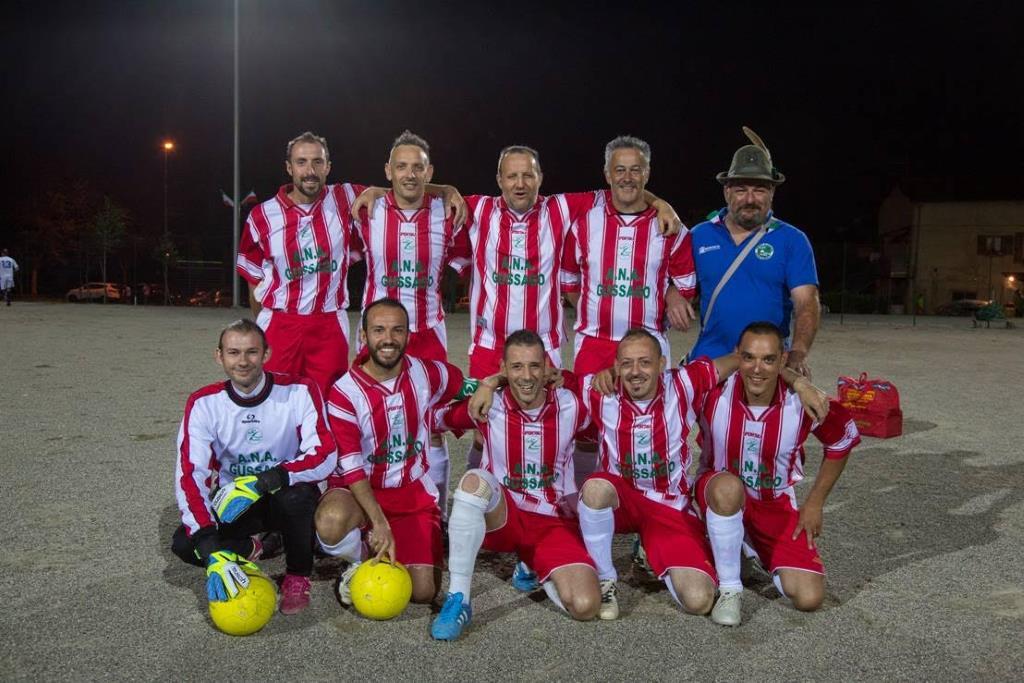 Gruppo Alpini Gussago vittoria torneo sezionale 2015