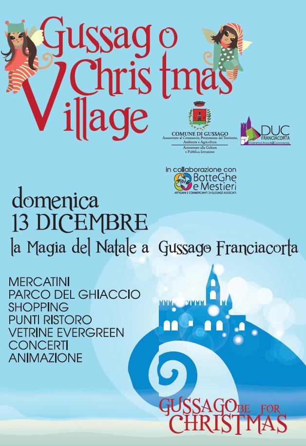 Gussago Christmas Village 2015
