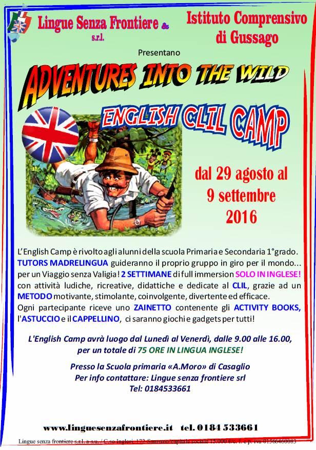 Camp Inglese 2016