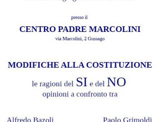 Incontro modifiche Costituzione 2016