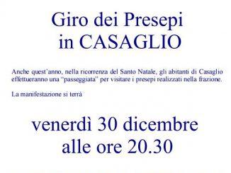 Giro presepi Casaglio dicembre 2016