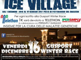 Ice Village Gusport Winter Race 2016