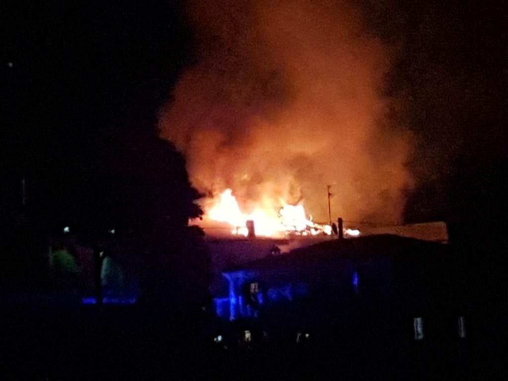 Incendio via Pinidolo dicembre 2016