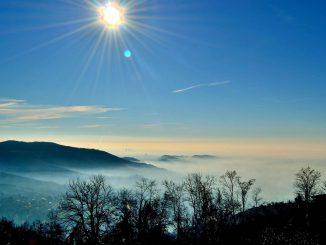 Panorama nebbia dicembre 2016