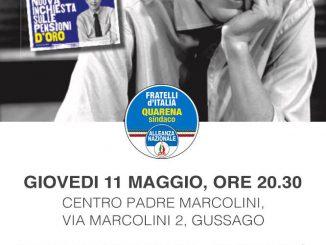 Presentazione saggio Vampiri Mario Giordano maggio 2017