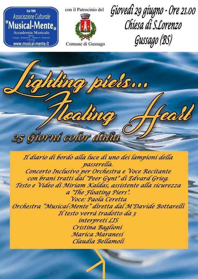 Lighting piers Floating hear giugno 2017