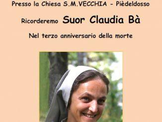 Messa Claudia Bà giugno 2017