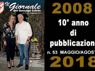 Banner Giornale Gussago Calcio numero 53