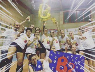 Volley Gussago promozione B2 maggio 2018