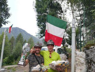 Alpini marcia regolarità montagna Irma luglio 2018