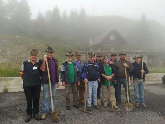 Alpini volontari trincee Maniva 2018