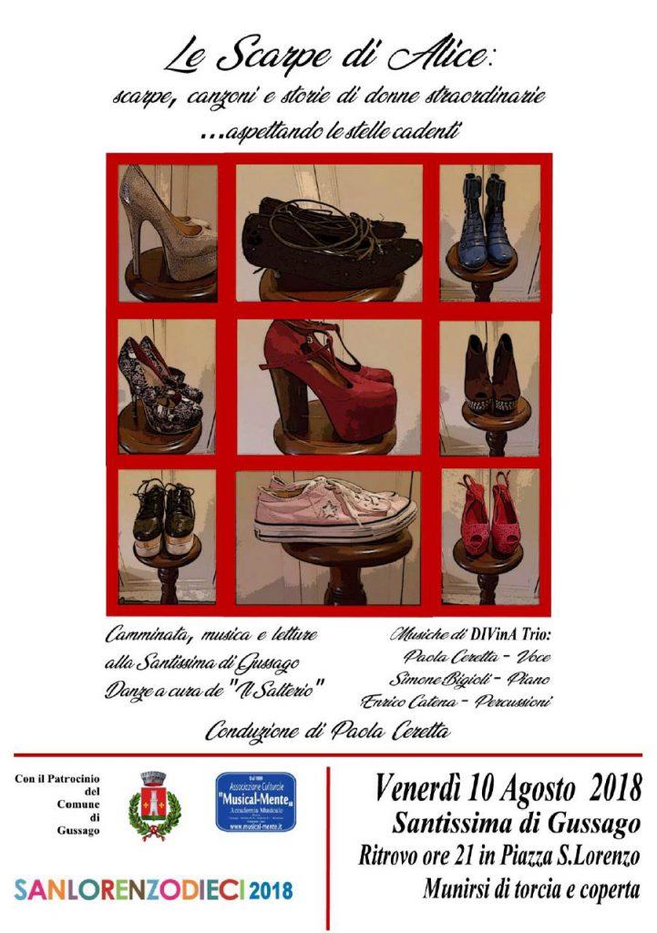 Sanlorenzodieci Le scarpe di Alice agosto 2018