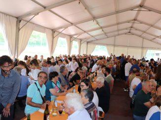 Fotogallery pranzo benefico LIONS Alpini settembre 2018