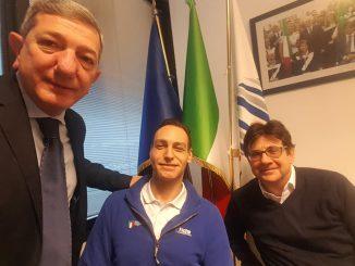 Tarek incontra Pancalli dicembre 2018