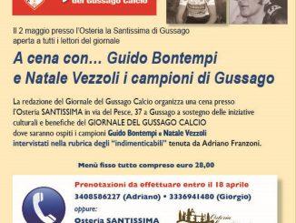 Cena Bontempi Vezzoli aprile 2019