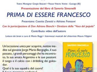 """Presetazione libro """"Prima di essere Francesco"""" maggio 2019"""