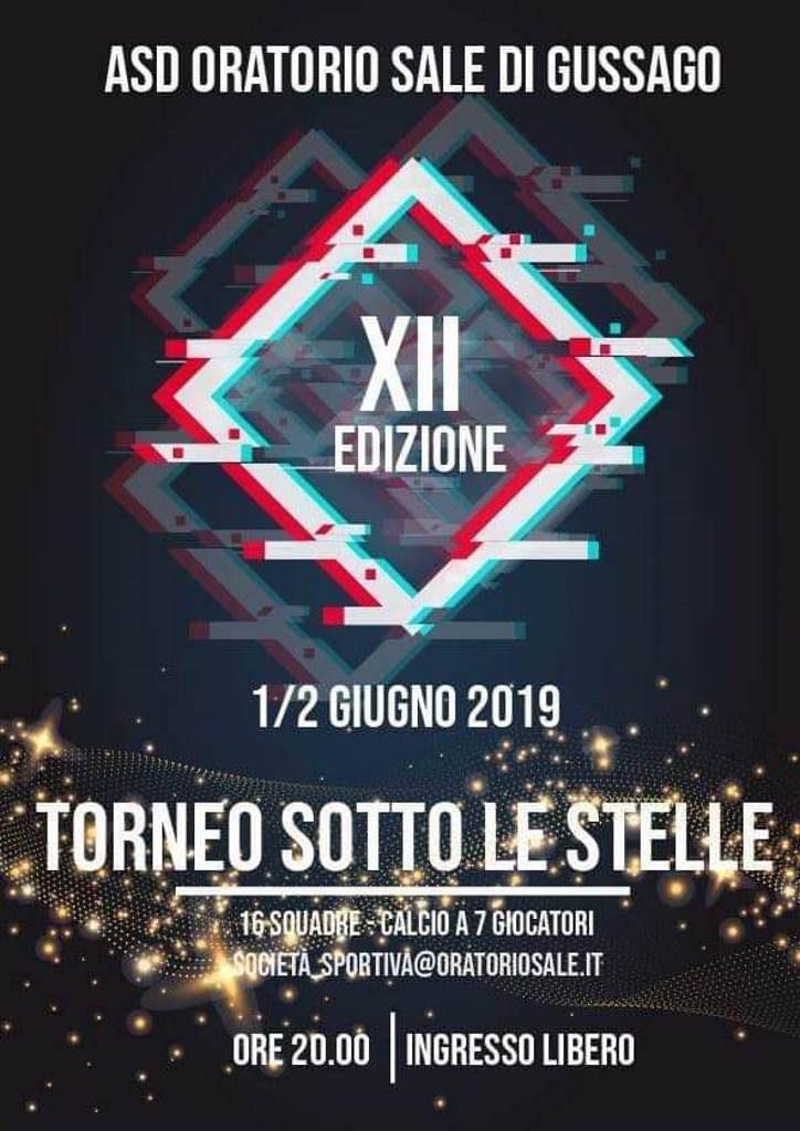 Torneo sotto stelle giugno 2019