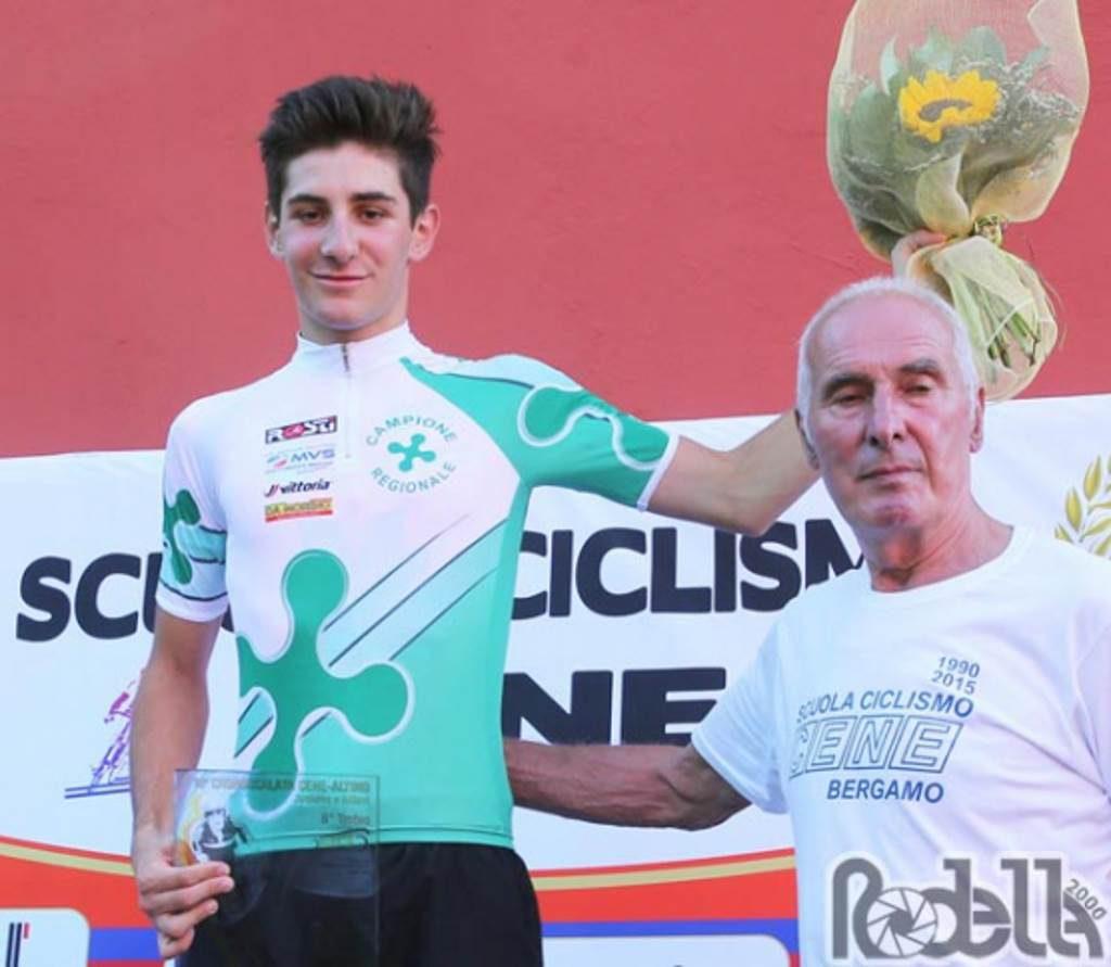 Riccardo Perani campione lombardo cronoscalata luglio 2019
