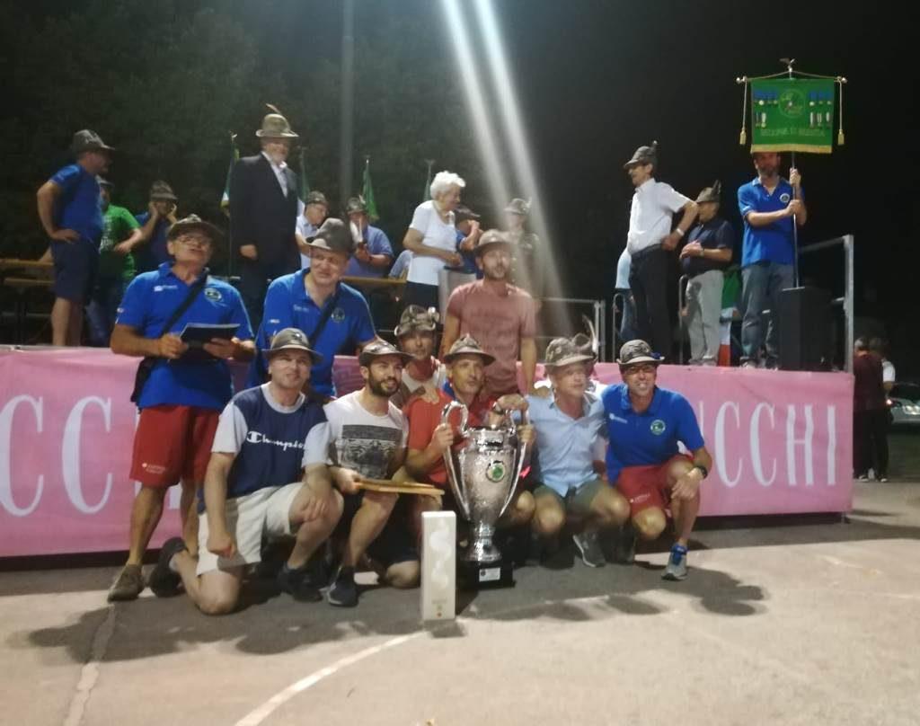 Vittoria torneo alpini luglio 2019