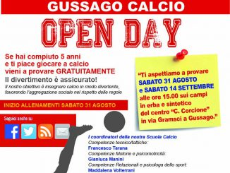 Open day Gussago Calcio 2019
