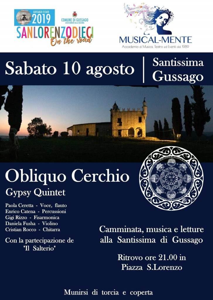 San Lorenzo Dieci Obliquo cerchio agosto 2019