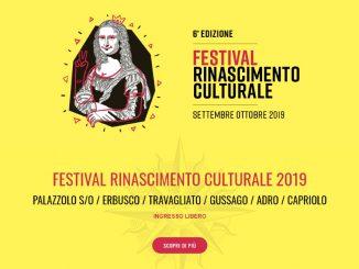 Festival Rinascimento Culturale settembre 2019