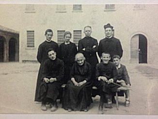 Don Primo Mazzolari a Cicognara, anni 30