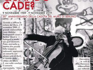 Anniversario caduta Muro Berlino novembre 2019