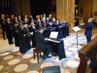 Coro Calliope Duomo Torino novembre 2019