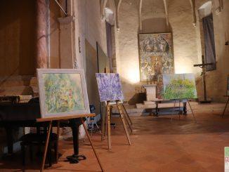 Fotogallery inaugurazione Anima Mundi mostra Daniele Gatta novembre 2019