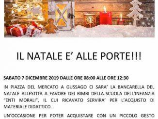 Bancarella Natale Enti morali dicembre 2019