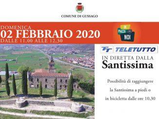 """""""In Piazza con Noi"""" Teletutto Santissima febbraio 2020"""